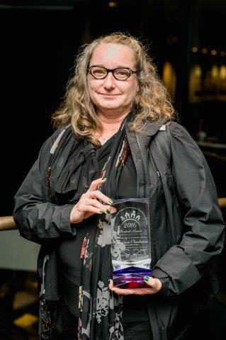 2016 Annual Meeting & Gala Photos - Georgiana Chamberlain & Award