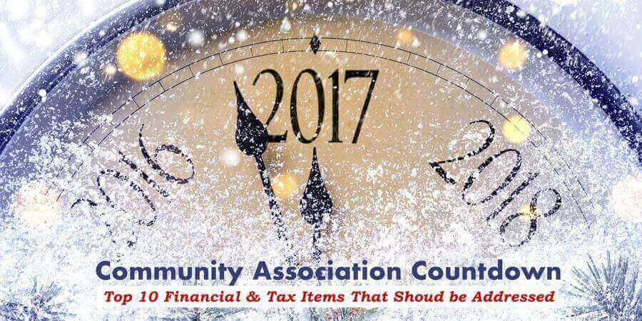 Community Associations Countdown to Year-End!