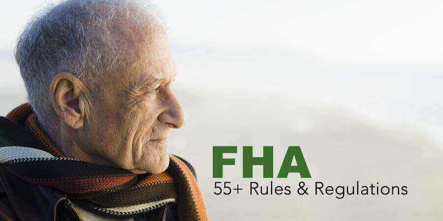 Elderly Man with FHA Condominium Rules