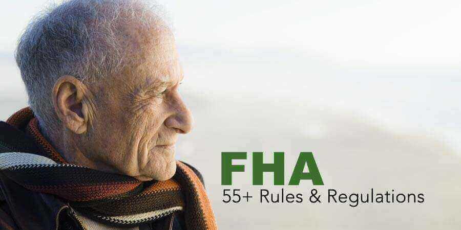 Elderly Man with FHA Condominium Rules