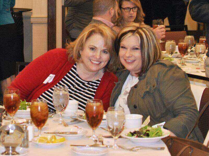 March 2018 Chapter Luncheon Photos - Melissa Musser, CMCA, AMS & Megan Martin, CMCA, AMS
