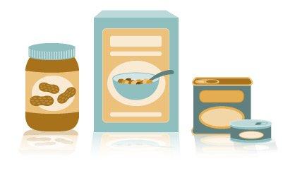 Food Drive Items