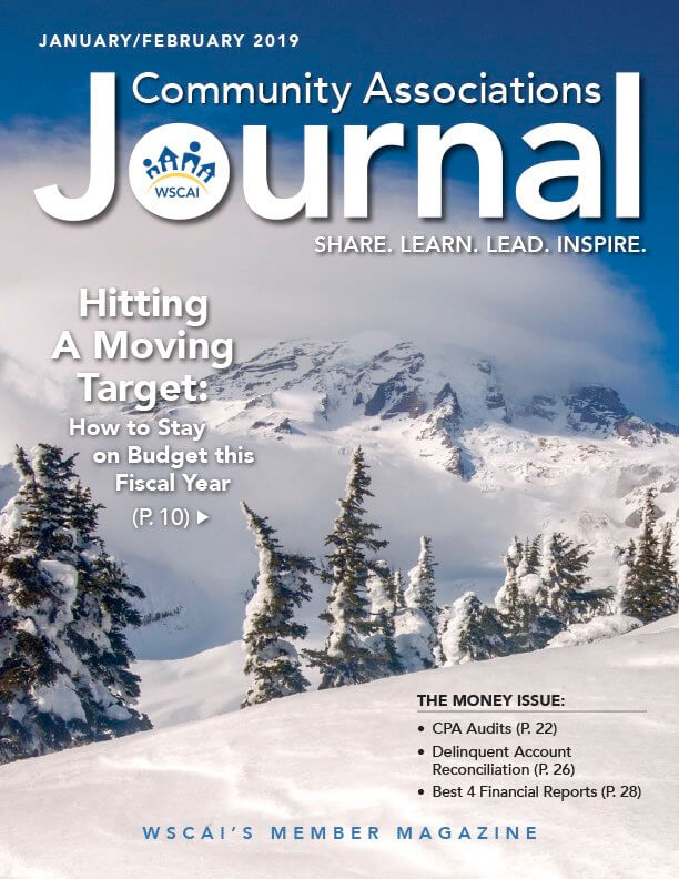 Community Associations Journal - Jan/Feb 2019 Issue - Cover