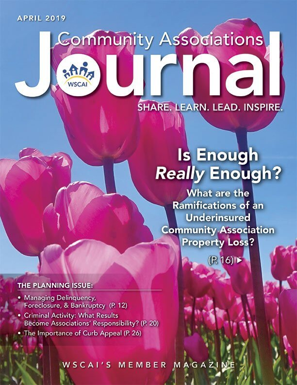 Community Associations Journal - April 2019 Issue - Cover