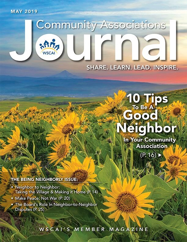 Community Associations Journal May 2019 Issue - Cover