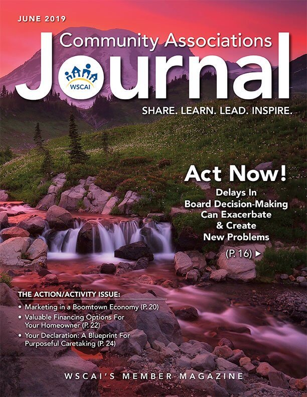 Community Associations Journal - June 2019 Issue - Cover