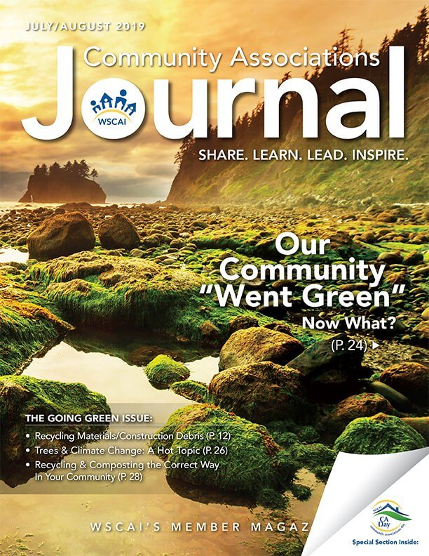 Community Associations Journal - July/August 2019 Issue - Cover