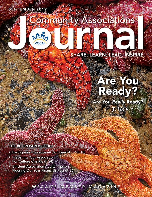 Community Associations Journal - September 2019 Issue - Cover Thumbnail