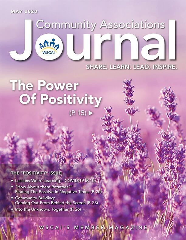 Community Associations Journal - May 2020 Issue - Cover