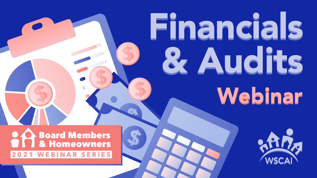 Financials & Audits Webinar - March 11, 2021