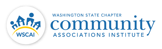 WSCAI - Washington State Chapter of Community Associations Institute - Logo