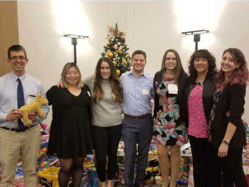 Toys-For-Tots December 2019 Chapter Luncheon - Community Outreach Committee Members