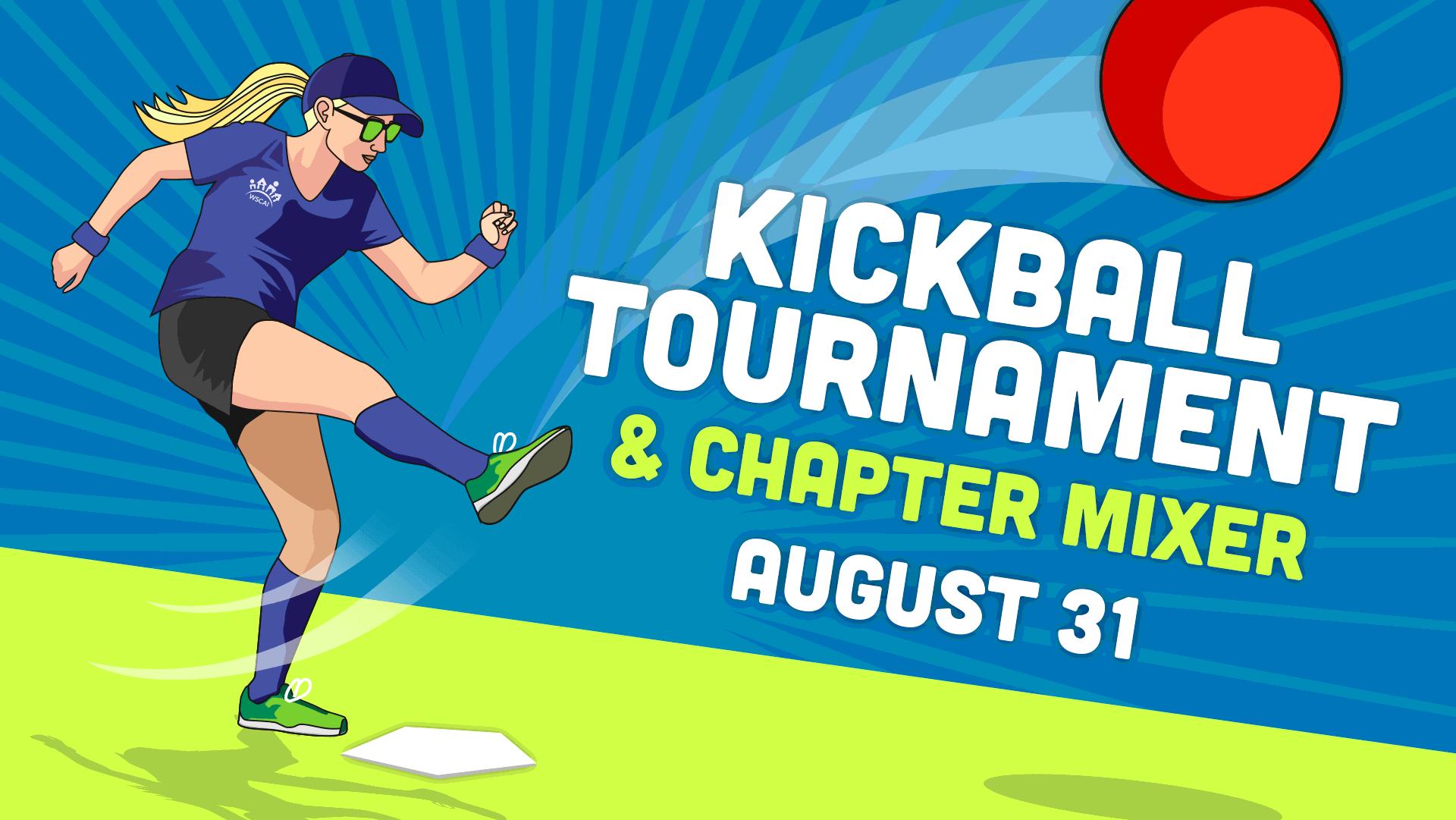 Kickball Tournament & Chapter Mixer 2021