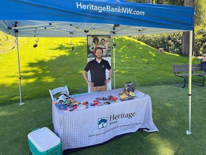 Golf Tournament 2021 - Hole 11: Heritage Bank