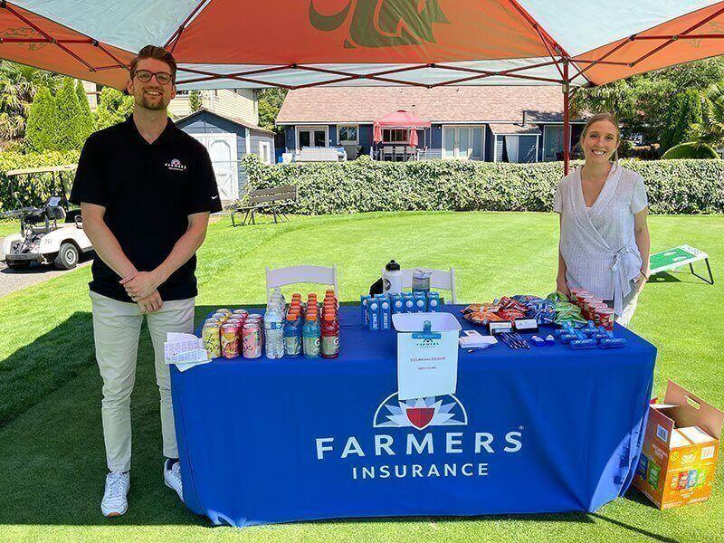 Golf Tournament 2021 - Hole 13: Carter Insurance Agency - Farmers Insurance