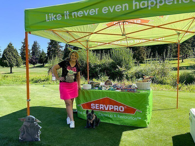 Golf Tournament 2021 - Hole 16: SERVPRO of Edmonds, Lynnwood & Bellevue West