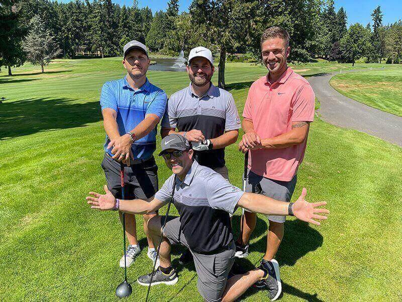 Golf Tournament 2021 - Team 4A
