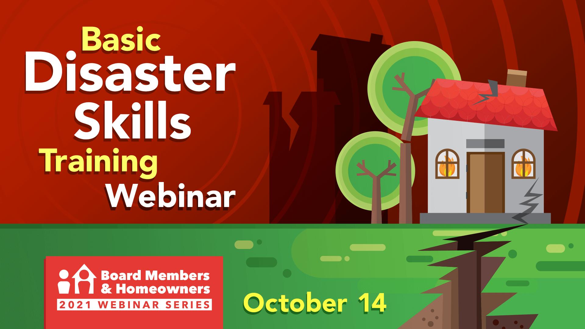 Basic Disaster Skills Training Webinar