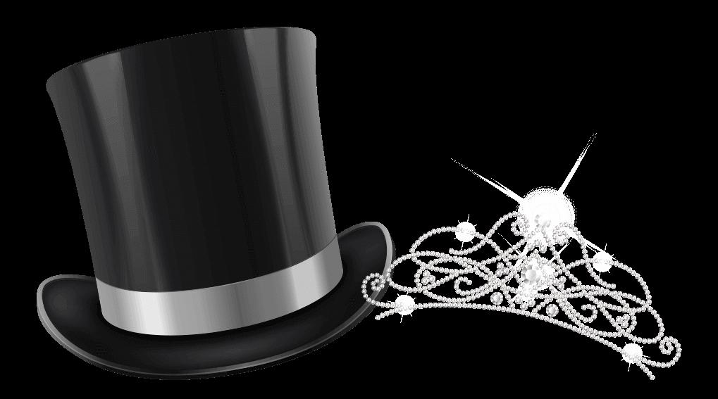 Top Hat & Tiara Graphic